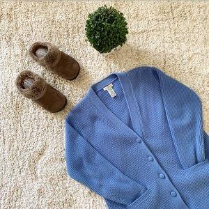 🆕 Vintage Yarnworks light Blue oversized sweater